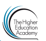 Logo for the Higher Education Academy